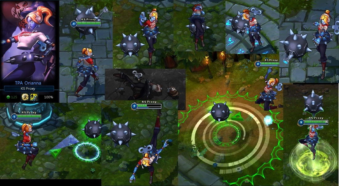 Screenshots Of Lol Champions And Skins Along With Updated Ability